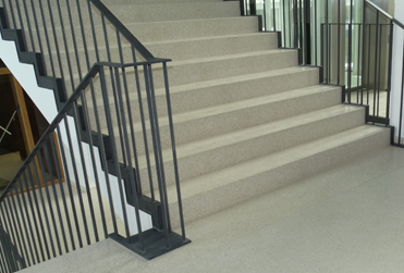 Escalier en terrazzo