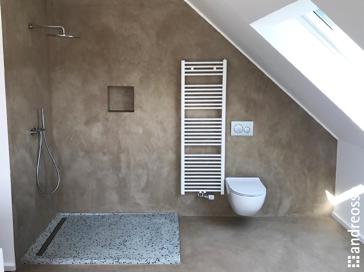 Salle De Bain En Mortex salle-de-bains-en-beton-cire - andreosso