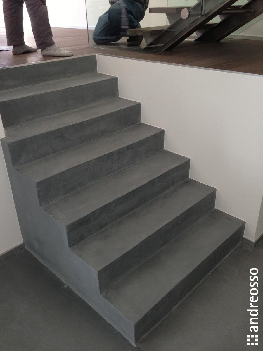 Recouvrir Un Escalier En Béton escalier-et-mobilier-en-beton-cire - andreosso