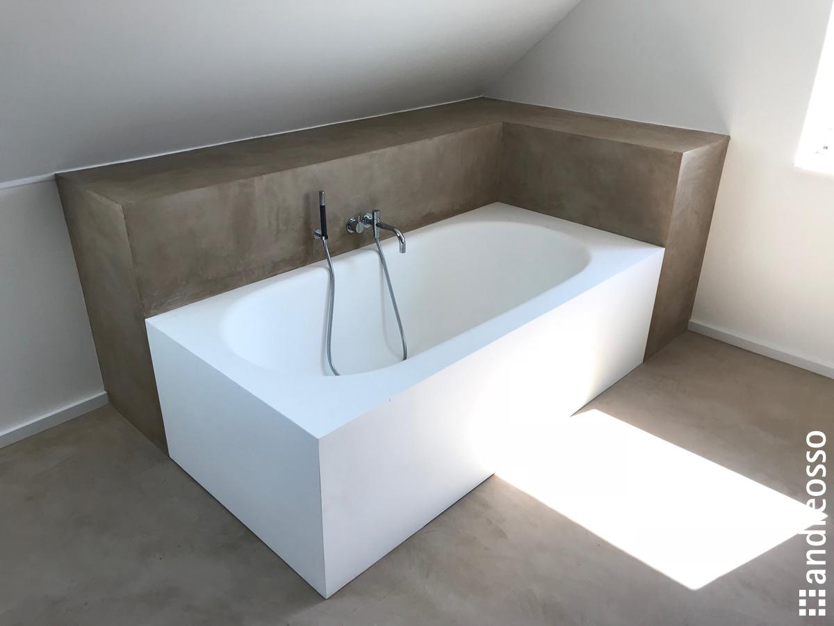 Enduit Carrelage Salle De Bain salle-de-bains-en-beton-cire - andreosso